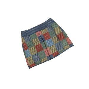 Vineyard Vines Patchwork Wrap-Style Skirt